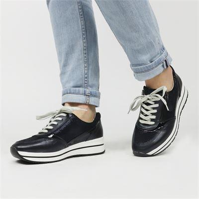 Nelson dames sneakers blauw