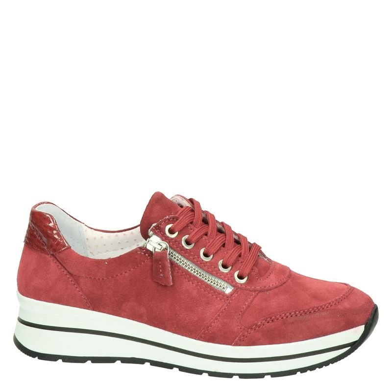 Nelson - Lage sneakers - Rood