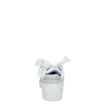 PS Poelman dames lage sneakers Wit