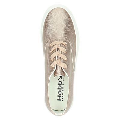 Hobbs dames lage sneakers Rose goud