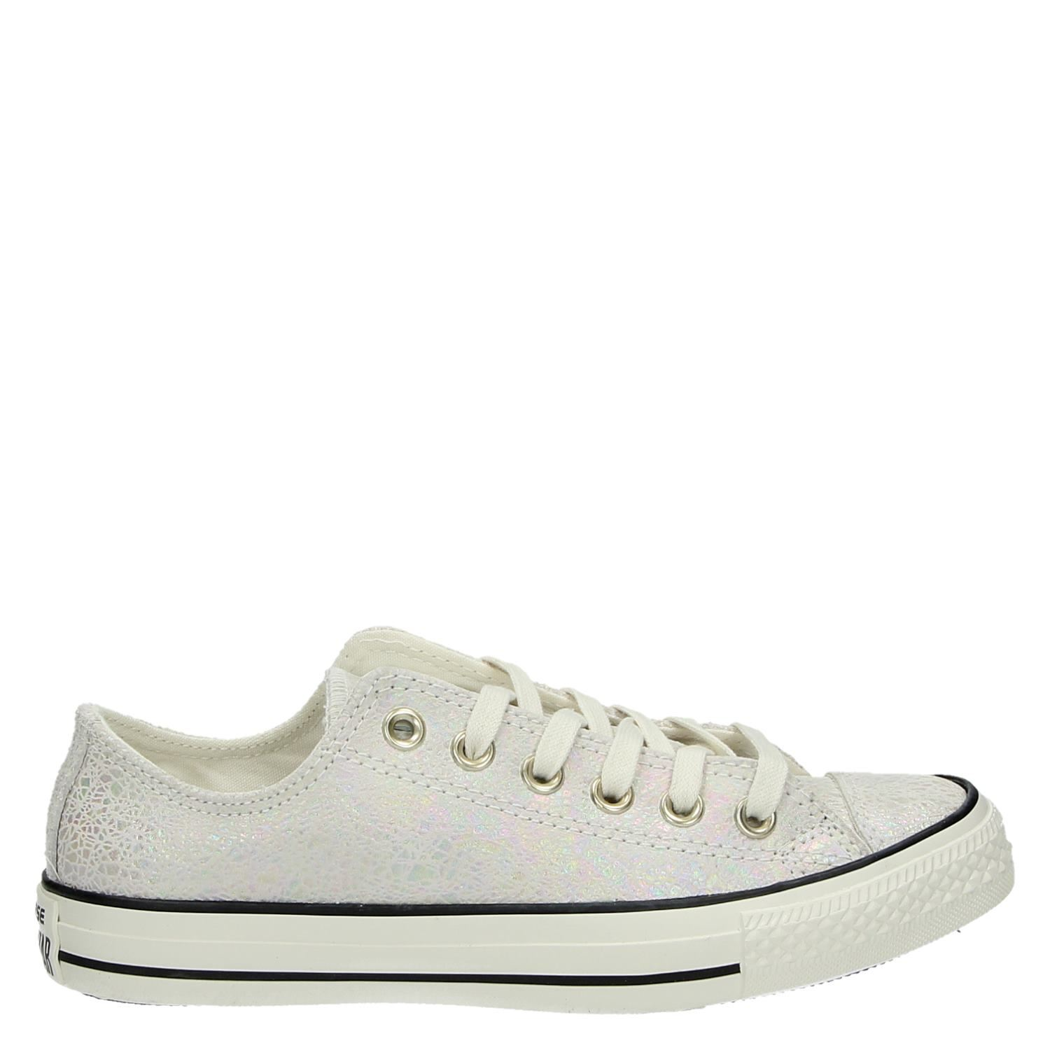 be41f634ab1 Converse All Star dames lage sneakers wit