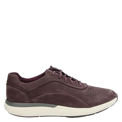 Clarks dames sneakers rood