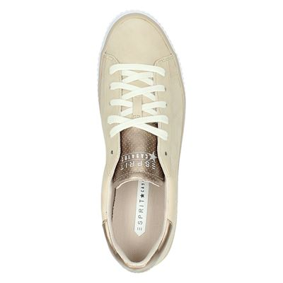 Esprit dames lage sneakers Roze