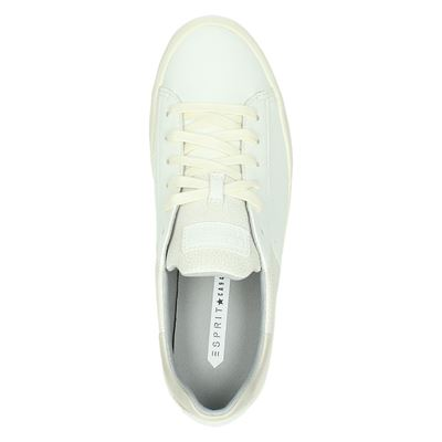 Esprit dames lage sneakers Ecru