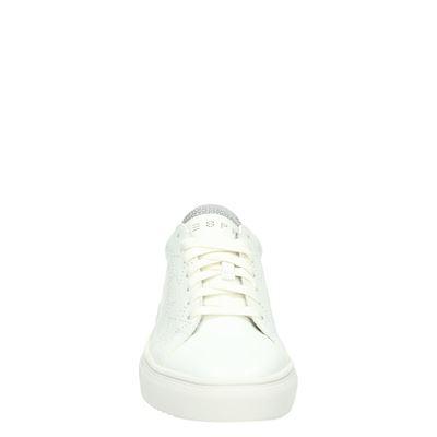 Esprit dames lage sneakers Wit