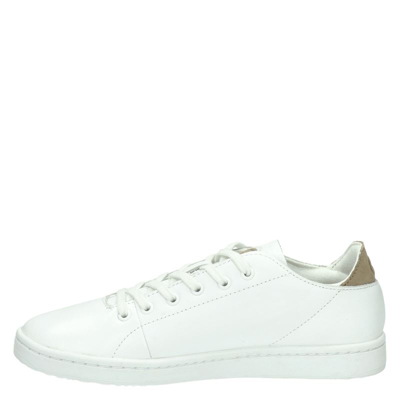 Woden Jane leather - Lage sneakers - Wit