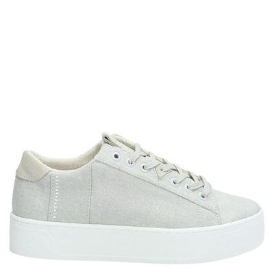 Hub dames sneakers licht grijs