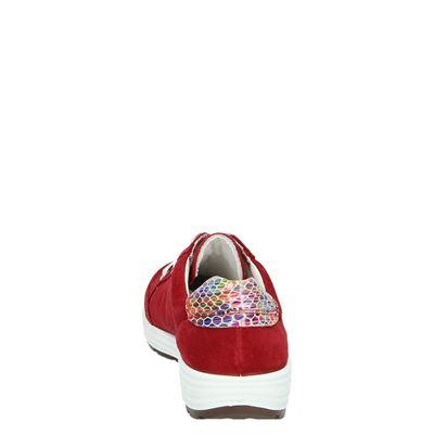 Ara dames lage sneakers Rood