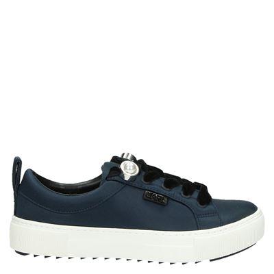 Karl Lagerfeld dames sneakers blauw