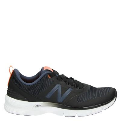 New Balance dames lage sneakers zwart