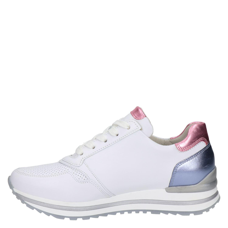 Gabor - Lage sneakers voor dames - Wit BvsNO8X