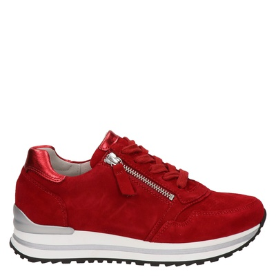 Gabor dames sneakers rood