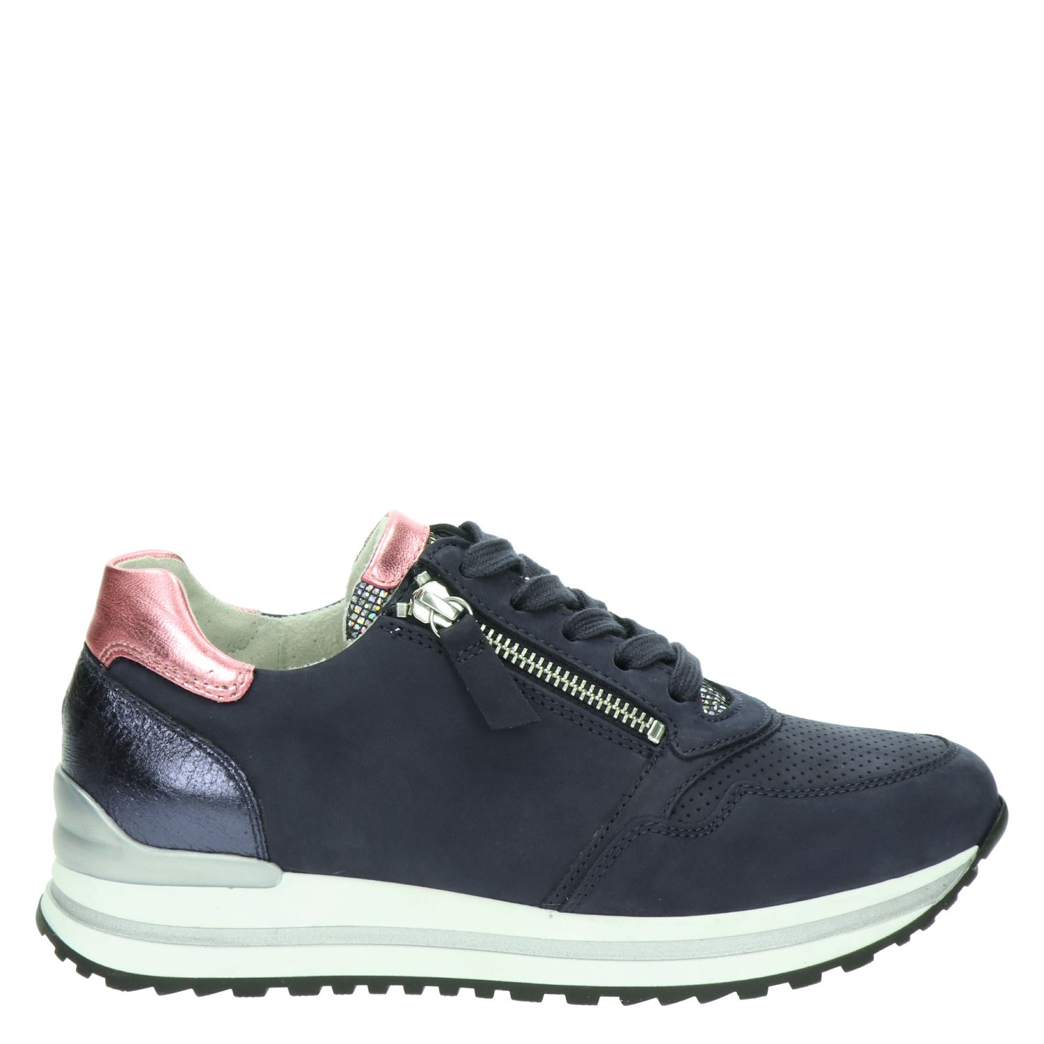 03327a6f618 Gabor dames lage sneakers blauw