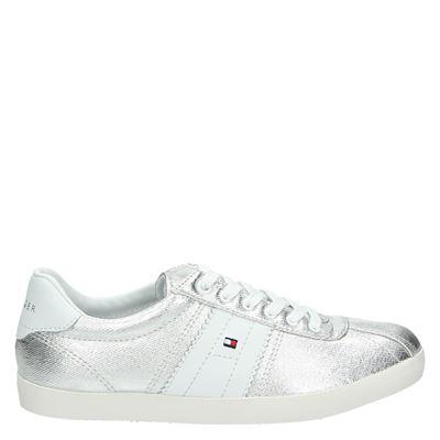 Tommy Hilfiger Sport dames sneakers zilver