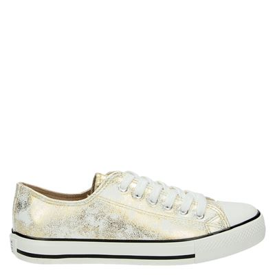 Supercracks dames sneakers goud