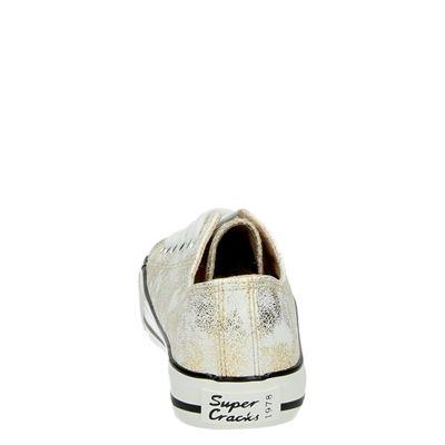 Supercracks dames lage sneakers Goud