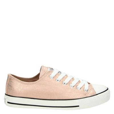 Supercracks dames sneakers rose goud