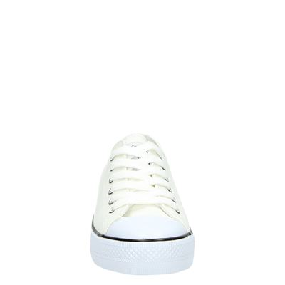 Supercracks dames lage sneakers Wit