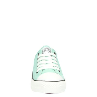 Supercracks dames lage sneakers Blauw