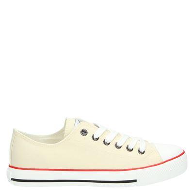 Supercracks dames sneakers beige
