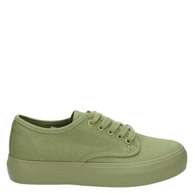 Hobb's dames sneakers groen