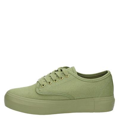 Hobbs dames platform sneakers Groen