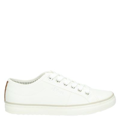 S.Oliver dames sneakers wit
