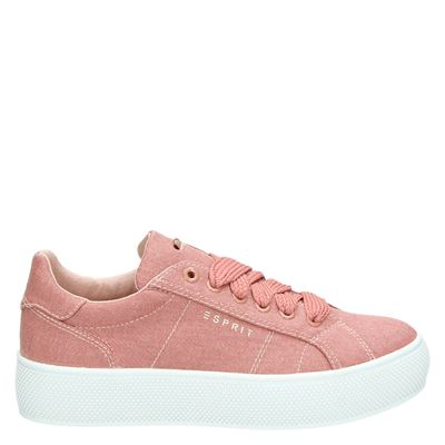 Esprit dames sneakers roze
