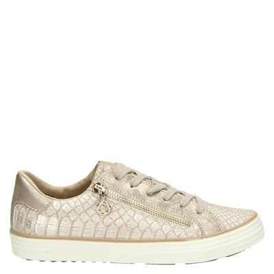 S.Oliver dames sneakers rose goud