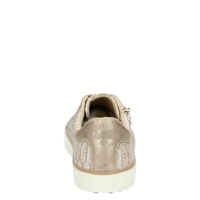 S.Oliver dames lage sneakers Rose goud