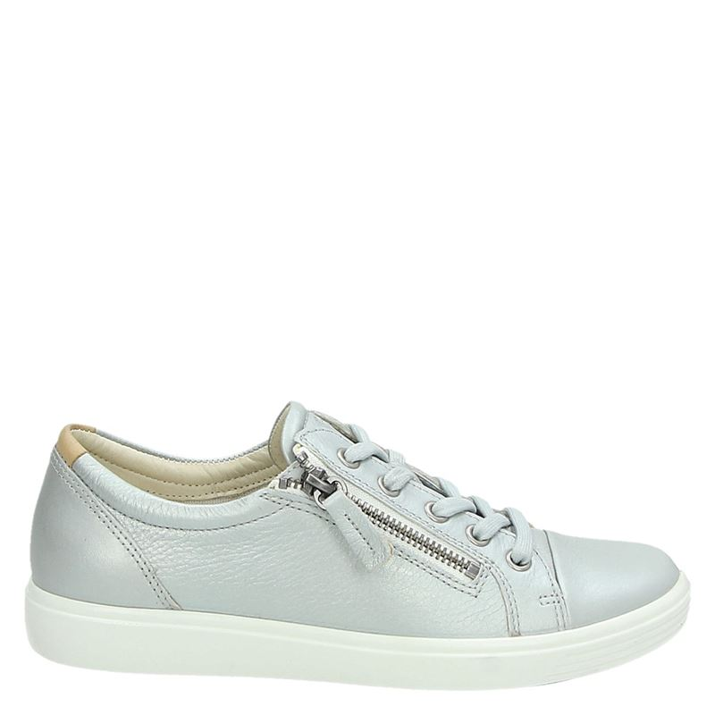 Ecco Soft 7 - Lage sneakers - Zilver