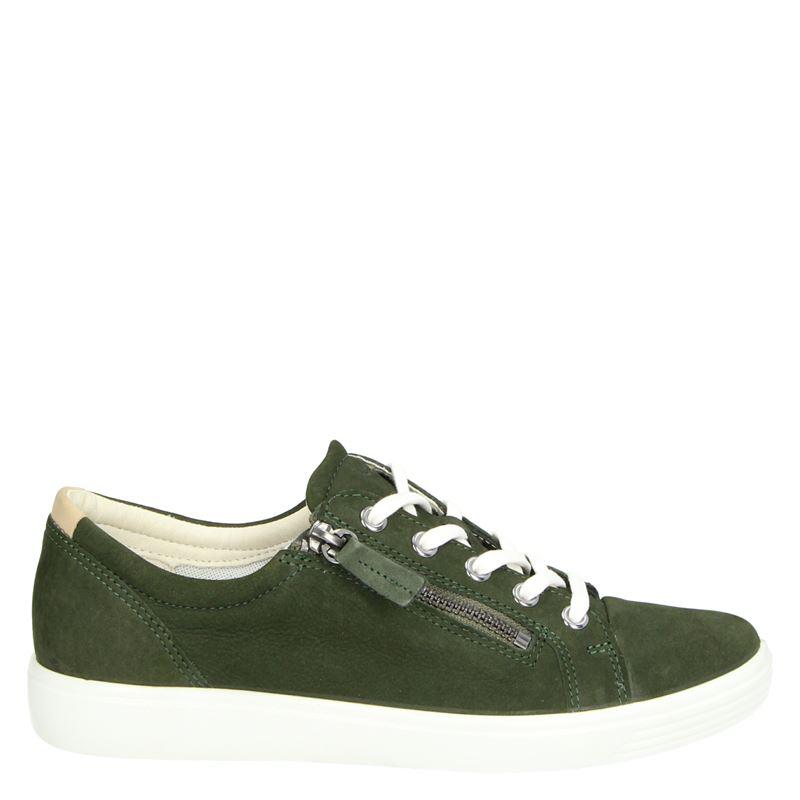 Ecco Soft 7 - Lage sneakers - Groen