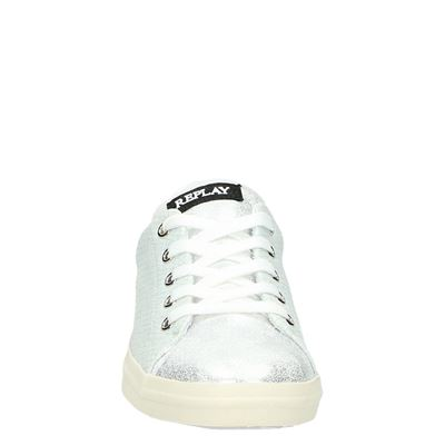 Replay dames lage sneakers Wit