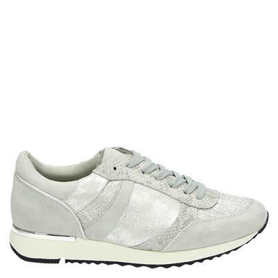 Hobb's dames sneakers zilver
