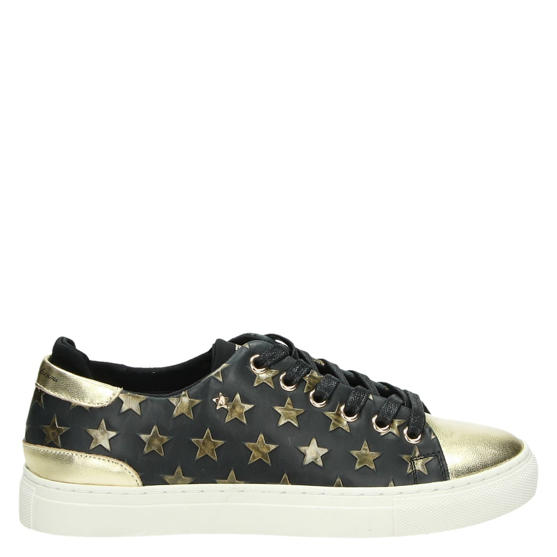 Zwart Lage Dames Replay Dames Sneakers Replay wqY4OP1