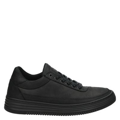 Bullboxer dames lage sneakers zwart