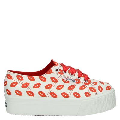 Superga dames platform sneakers multi