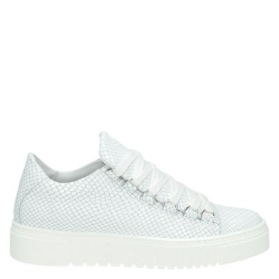 Aqa dames sneakers wit
