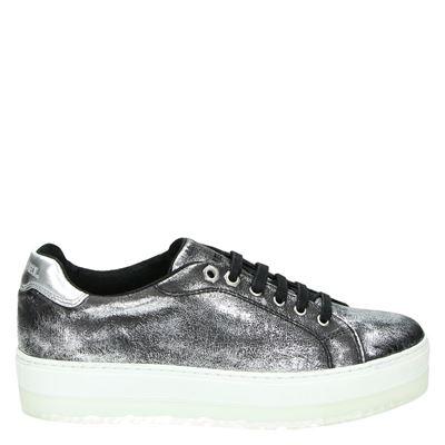Diesel dames sneakers zilver