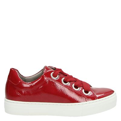 Jenny dames sneakers rood
