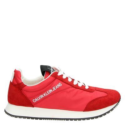 Calvin Klein dames sneakers rood