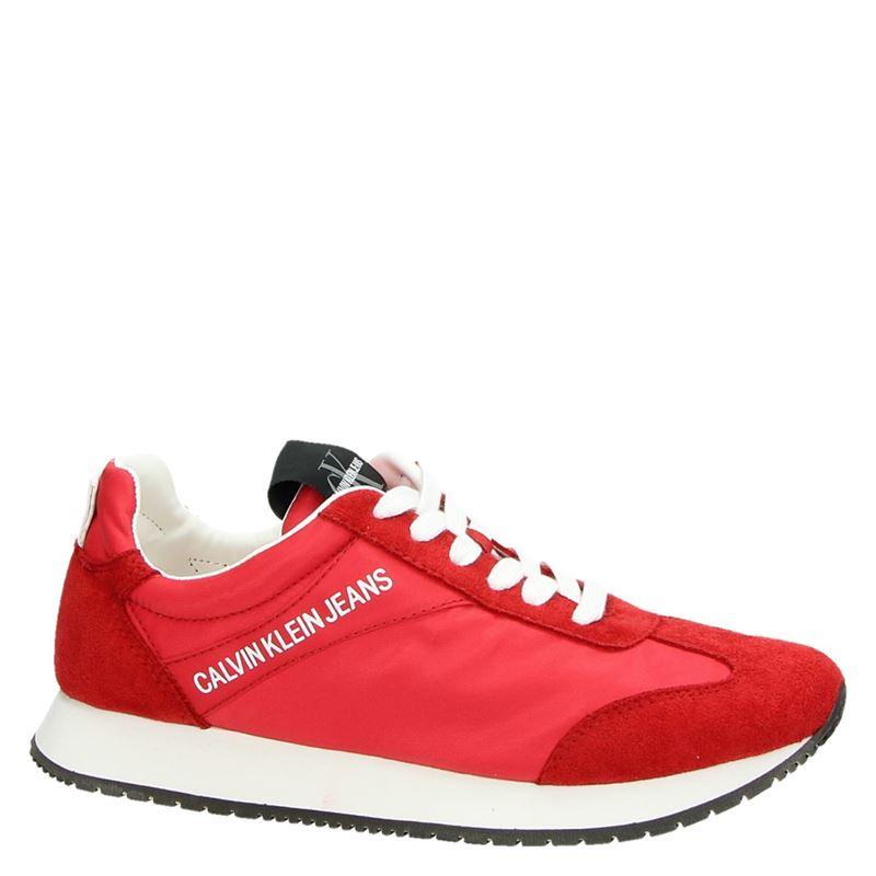 Calvin Klein Jill - Lage sneakers - Rood
