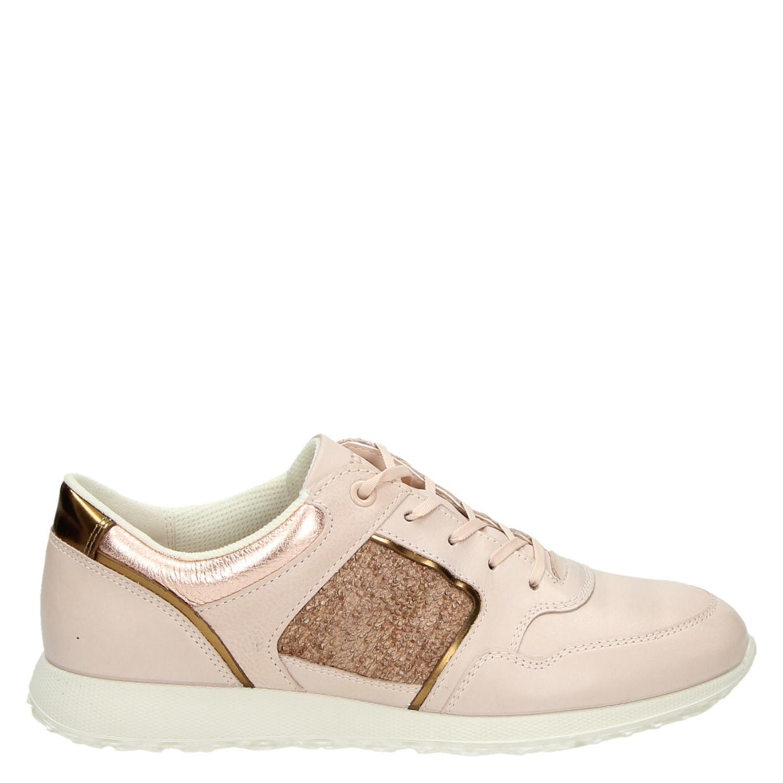 Ecco Sneak Chaussures De Sport Lage Roze 8zKfkYs5t