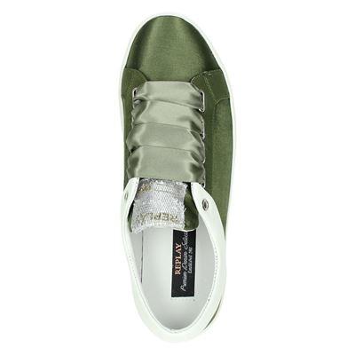 Replay dames lage sneakers Groen