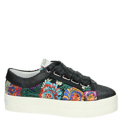 Replay dames lage sneakers Zwart
