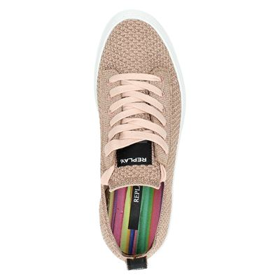 Replay dames lage sneakers Roze