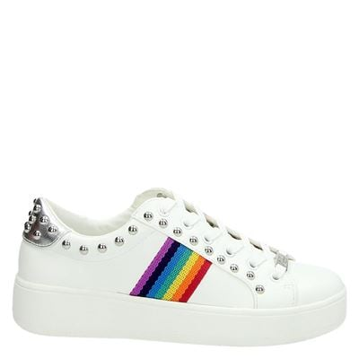 Steve Madden dames sneakers wit