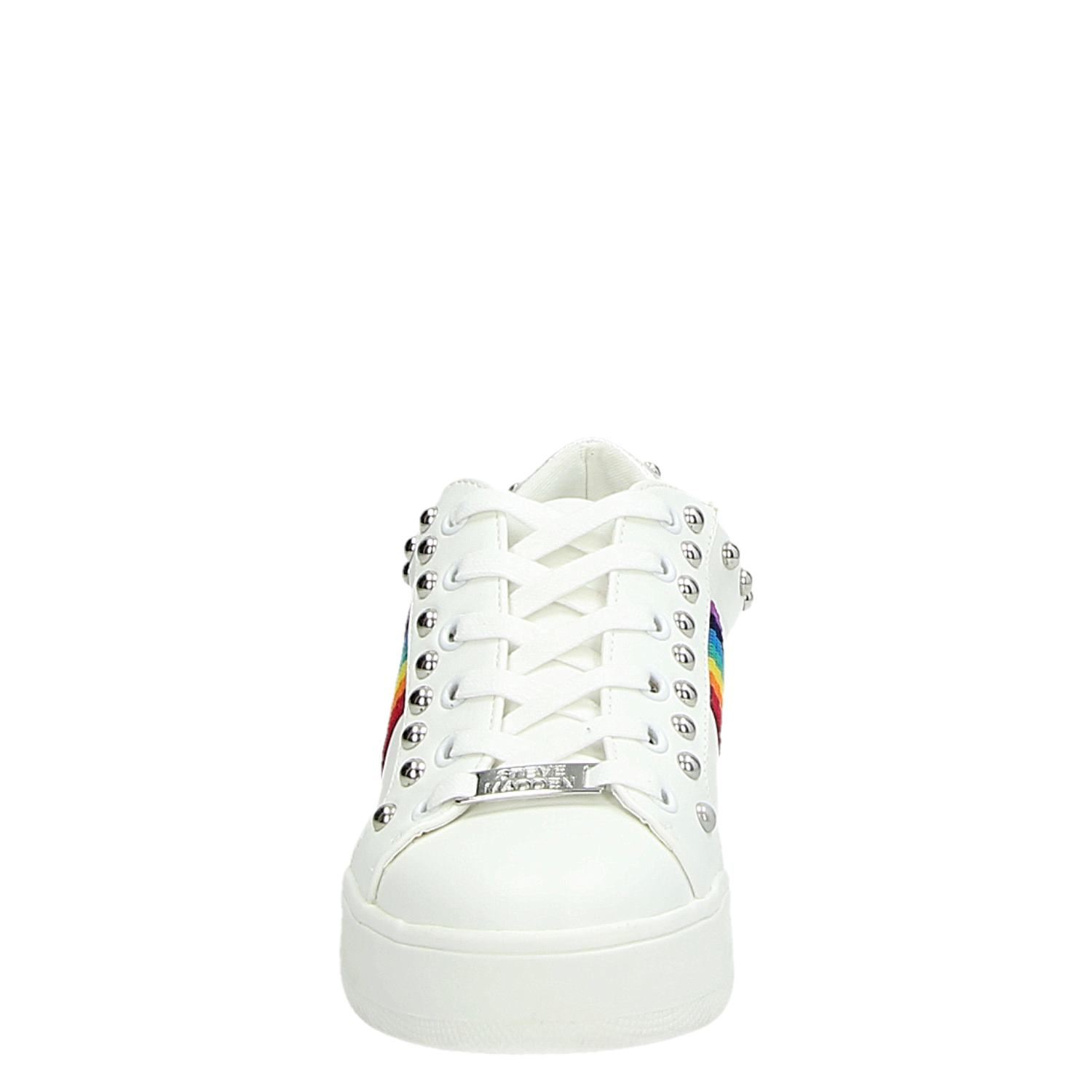 a1295e47b1a Steve Madden Belle dames lage sneakers wit