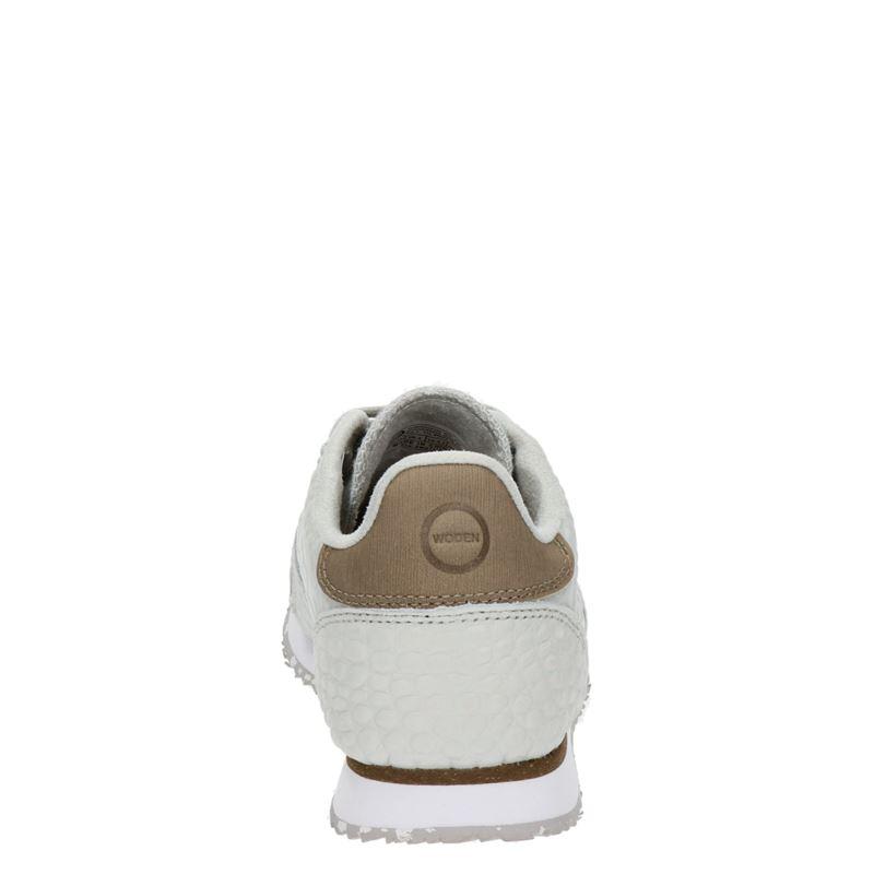 Woden Ydun Croco - Lage sneakers - Grijs