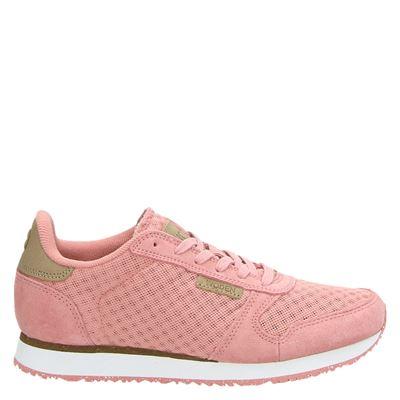 Woden dames sneakers roze